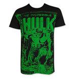 T-shirt Hulk da uomo On Black Subway