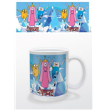 Adventure Time - Princess  Jake & Finn (Tazza)