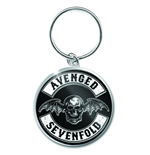 Avenged Sevenfold - Deathbat Crest (Portachiavi Metallo)