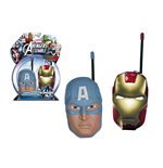 Avengers - Walkie Talkie Iron Man E Capitan America