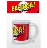 Tazza Big Bang Theory - Bazinga Red