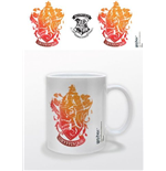 Harry Potter - Gryffindor Stencil Crest (Tazza)