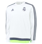 T-shirt manica lunga Real Madrid 2015-2016 (Bianco)