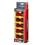Ferrari Race & Play - Ferrari 1:64 - 5 Pack