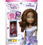 Violetta - Bambola My V-Friends 50 Cm