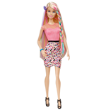 Mattel CFN48 - Barbie - Fashion & Beauty - Capelli Arcobaleno