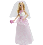 Mattel CFF37 - Barbie Fairytale - Barbie Sposa