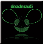 Deadmau5 - Green Head (Magnete Metallo)