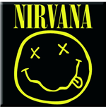 Nirvana - Smiley (Magnete Metallo)