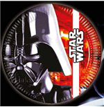 Star Wars - Set 8 Piatti Cm 23