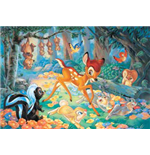 Bambi - Puzzle Double-Face Plus 60 Pz