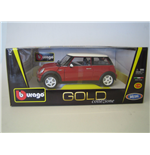 Bburago - Mini Cooper Gold 1:18