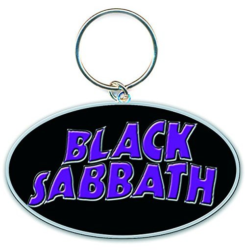 Black Sabbath - 13 Flame (Portachiavi Metallo)