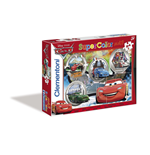 Cars - World Gran Prix Race - Puzzle Maxi 24 Pz