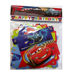 Cars 2 - Scritta Happy Birthday