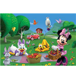 Casa Di Topolino (La) - Minnie Picnic - Puzzle Double-Face Plus 250 Pz