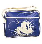 Borsa Messenger Retro Disney - Mickey Blue