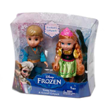 Frozen - Mini Doll Cm 15 Anna + Kristoff