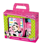 Minnie - Set Portamerenda + Borraccia