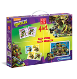 Teenage Mutant Ninja Turtles - Edukit 4 In 1