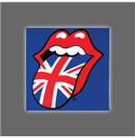 Magnete Metallo The Rolling Stones - Tongue England