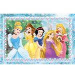 Principesse Disney - Puzzle Double-Face Plus 108 Pz