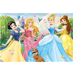 Principesse Disney - Puzzle Double-Face Plus 60 Pz