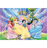 Principesse Disney - Puzzle Double-Face Supermaxi 108 Pz