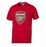 T-shirt Arsenal 2015-2016 Puma Crest Fan da bambino