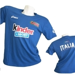 Italia Volley T-SHIRT Fan 2015/2016 Azzurra