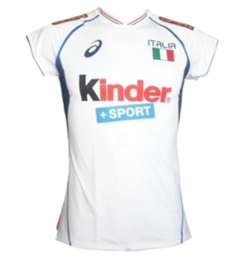 maglia italia volley asics