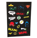 Justice League Of America - Fancy Dress Fridge Magnets (Set Magneti)