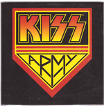 Kiss - Army (Magnete Metallo)