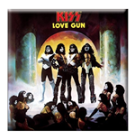 Kiss - Love Gun (Magnete Metallo)