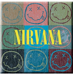 Nirvana - Smiley Blocks (Magnete Metallo)
