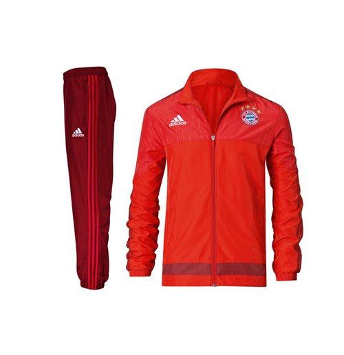 Tuta Bayern Monaco 2015-2016 (Rosso)
