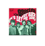 Beatles (The) - Get Back / Don T Let Me Down Red Version (Magnete Metallo)