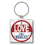 Beatles (The) - I Love The Beatles (Portachiavi Metallo)