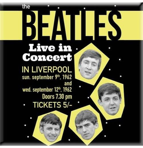 Beatles (The) - Live In Concert (Magnete Metallo)