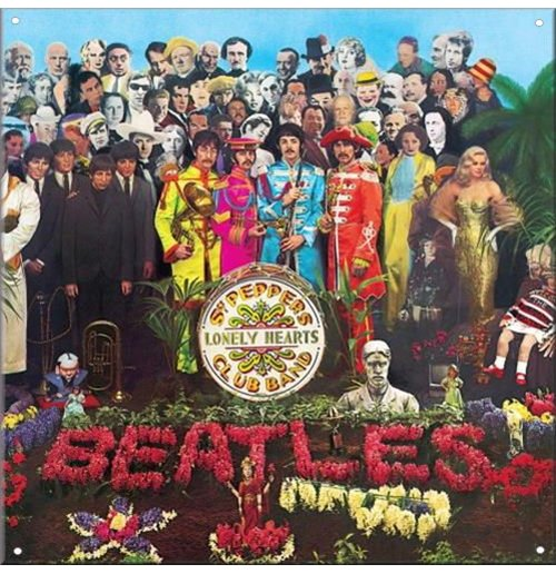 Beatles (The) - Sgt Pepper (Targa Acciao da Muro)