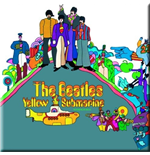 Beatles (The) - Yellow Submarine Album Cover (Magnete Metallo)