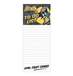 Batman - Batman Fight Crime (Memo Pad Magnetico)