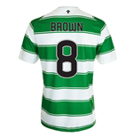 Maglia Celtic Football Club 2015-16 Home (Brown 8)
