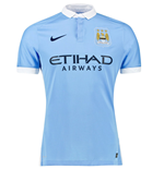 Maglia Manchester City 2015-2016 Authentic Home Nike