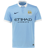 Maglia Manchester City 2015-2016 Home Nike