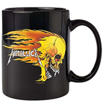 Metallica - Flaming Skull (Tazza)