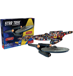 Star Trek - Puzzle Sagomato Double-Face 600 Pz