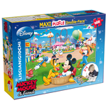 Topolino - Puzzle Double-Face Supermaxi 108 Pz