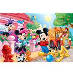 Topolino - Puzzle Double-Face Supermaxi 150 Pz