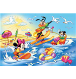 Topolino - Estate - Puzzle Double-Face Plus 108 Pz